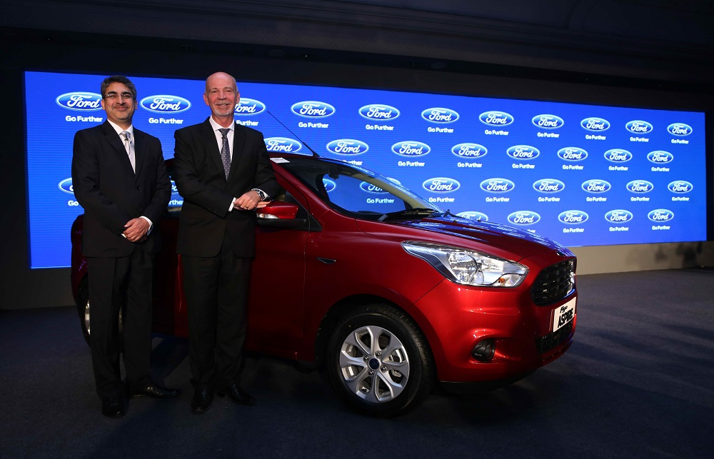 Nigel Harris, managing director and president, Ford India and Anurag Meh...