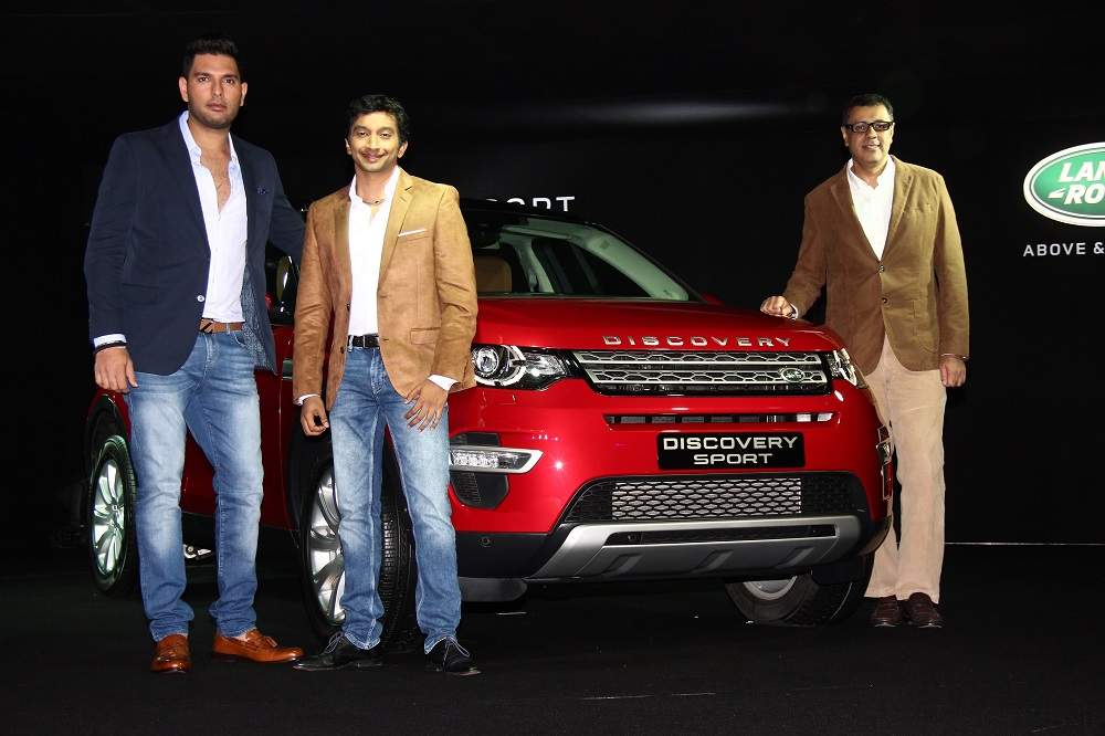 Launch of Land Rover's New Discovery Sport