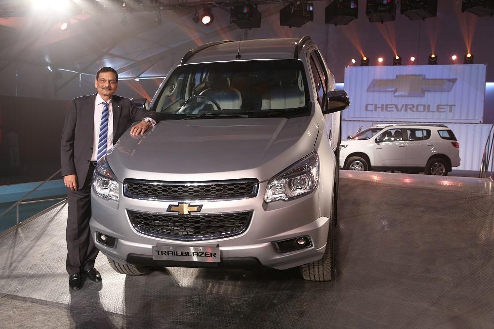 General Motors India Launches Chevrolet Trailblazer Suv