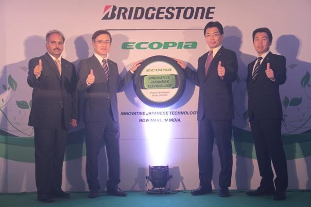 Launch of Bridgestone Ecopia tyres in New Delhi