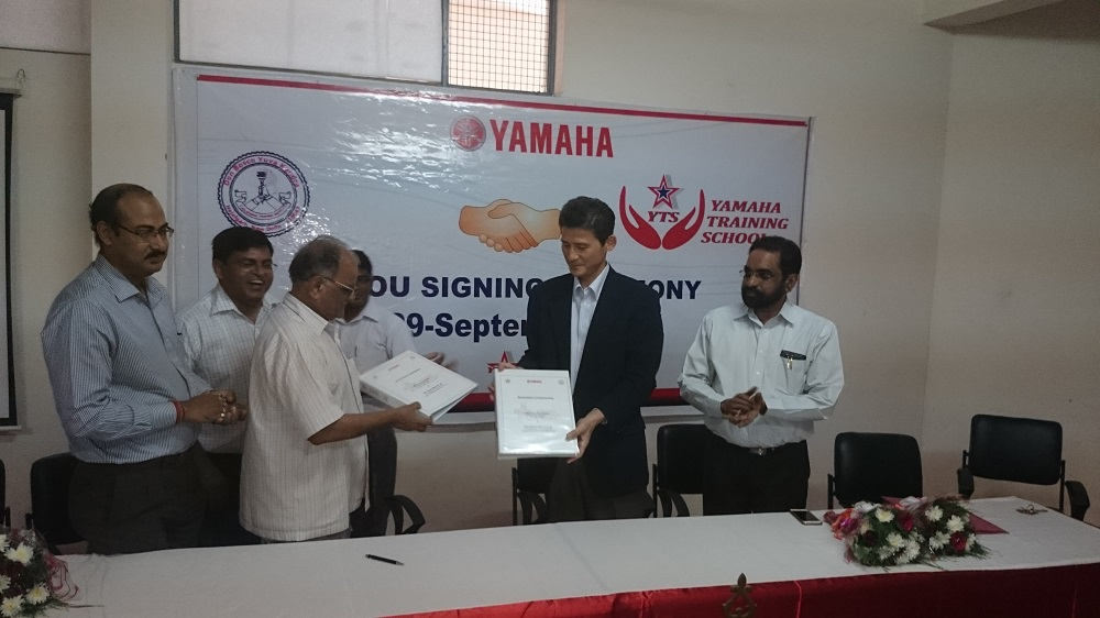 Yamaha partners with Don Bosco Yuva Kendra, Najafgarh, Delhi, for skills training and placement of underprivileged y