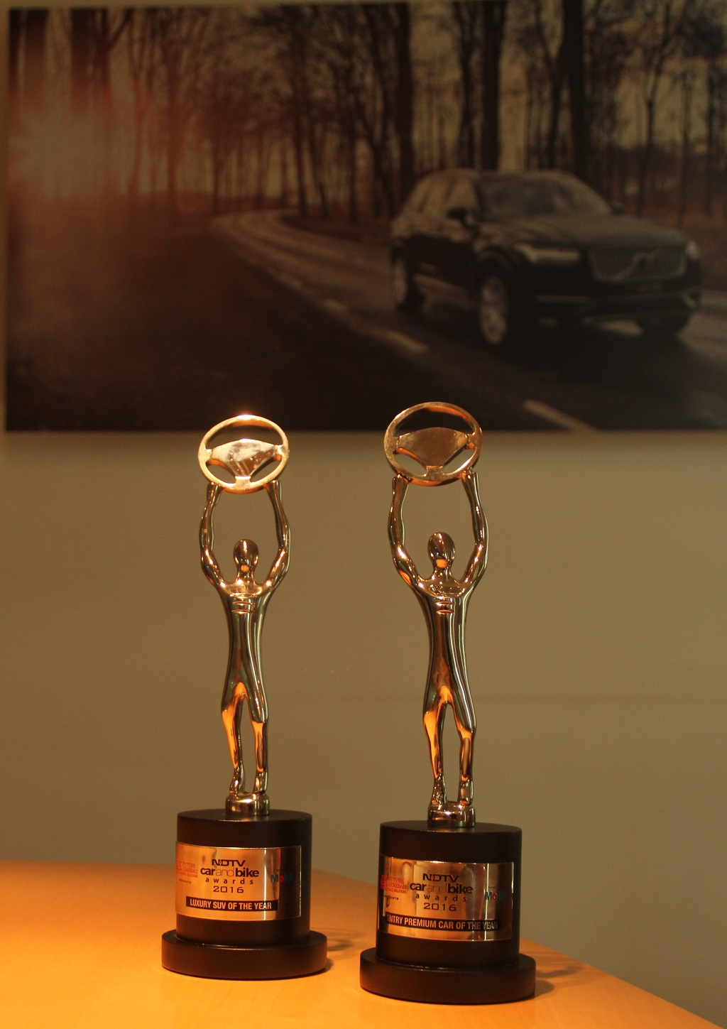 NDTV Car and Bike Awards 2016 honours Volvo Cars with two Awards