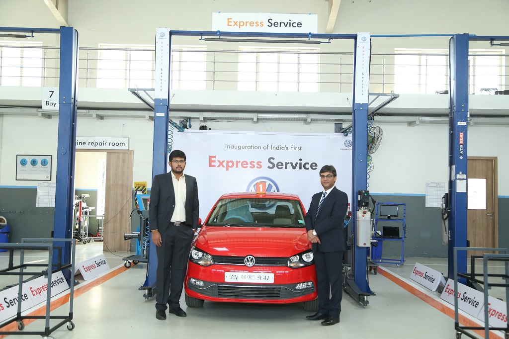 Volkswagen India introduces its First Express Service Facility for Customers