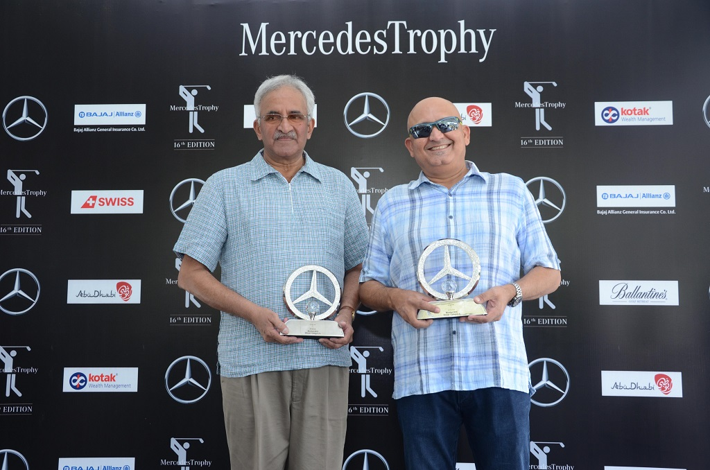 Cat B Winner Mr. Dilip Dandekar & Cat A Winner Mr. Ajit Parmar at the event