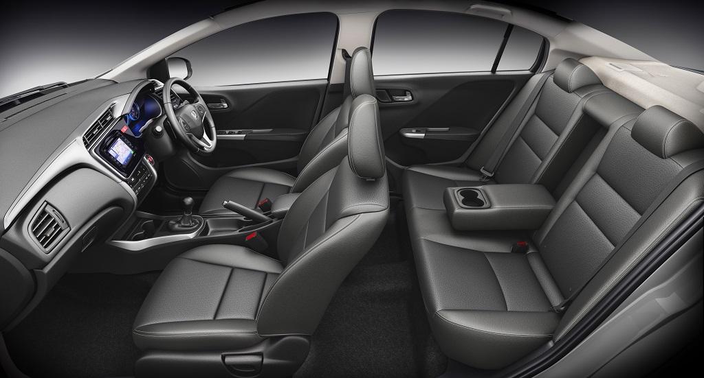 Honda City Black interiors