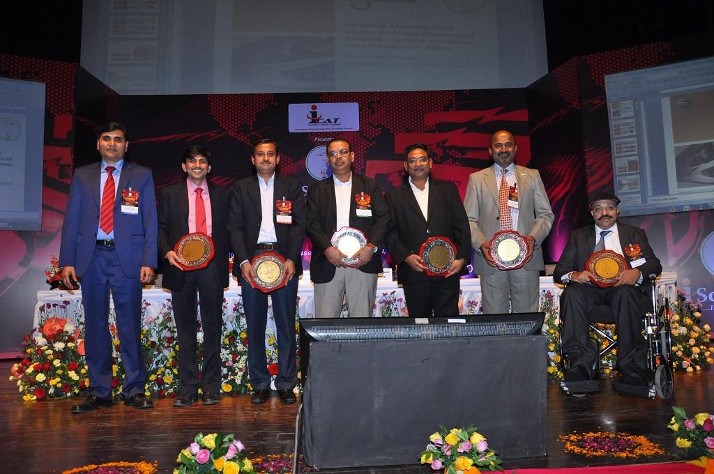 Mr.Dinesh Tyagi, Director ICAT, Mr. Rama Shankar Pandey (Panel Moderator), MD- Hella India Lighting Ltd. wit