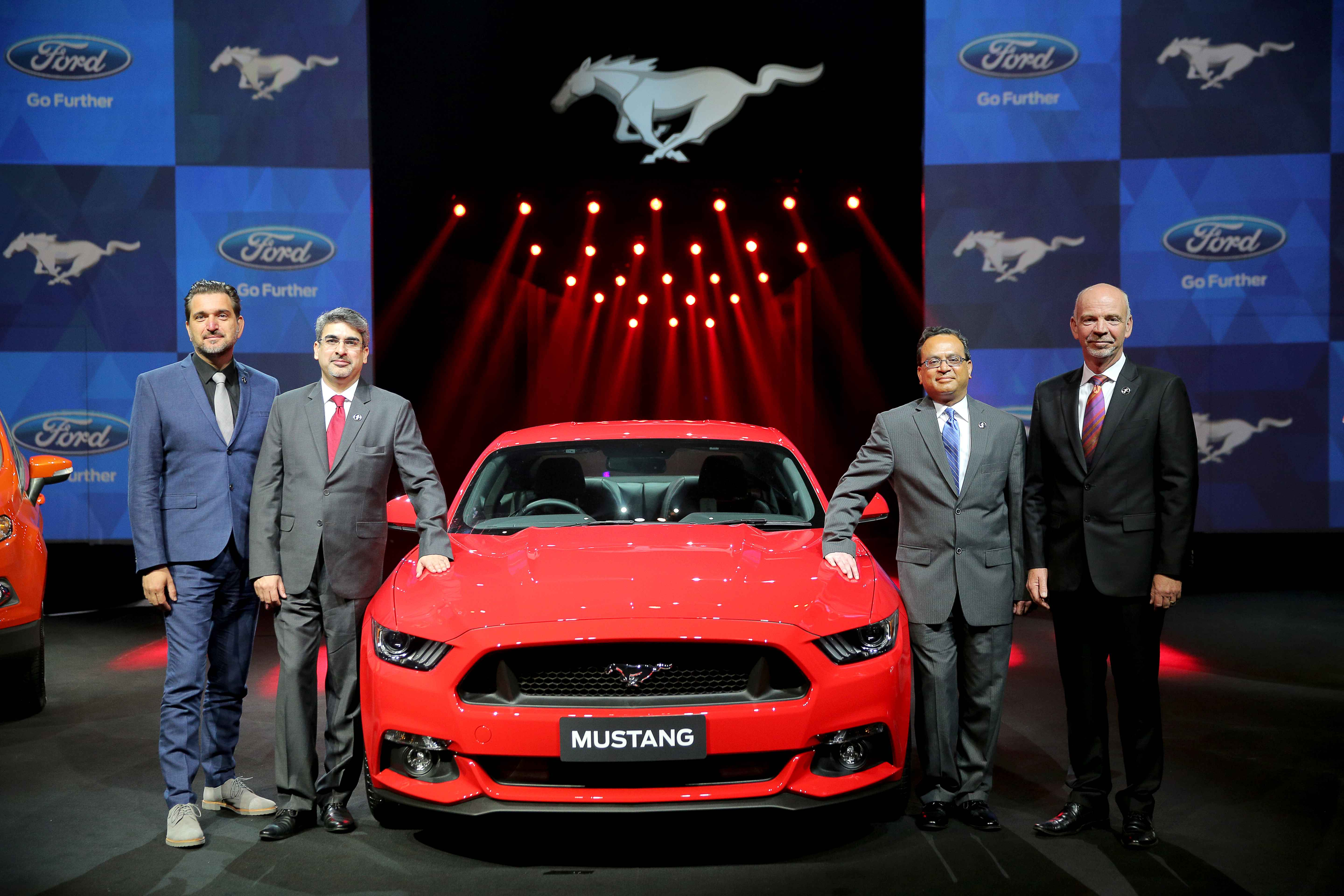 New Ford Mustang launch 1