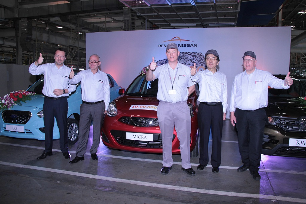 Renault-Nissan Alliance plant in India
