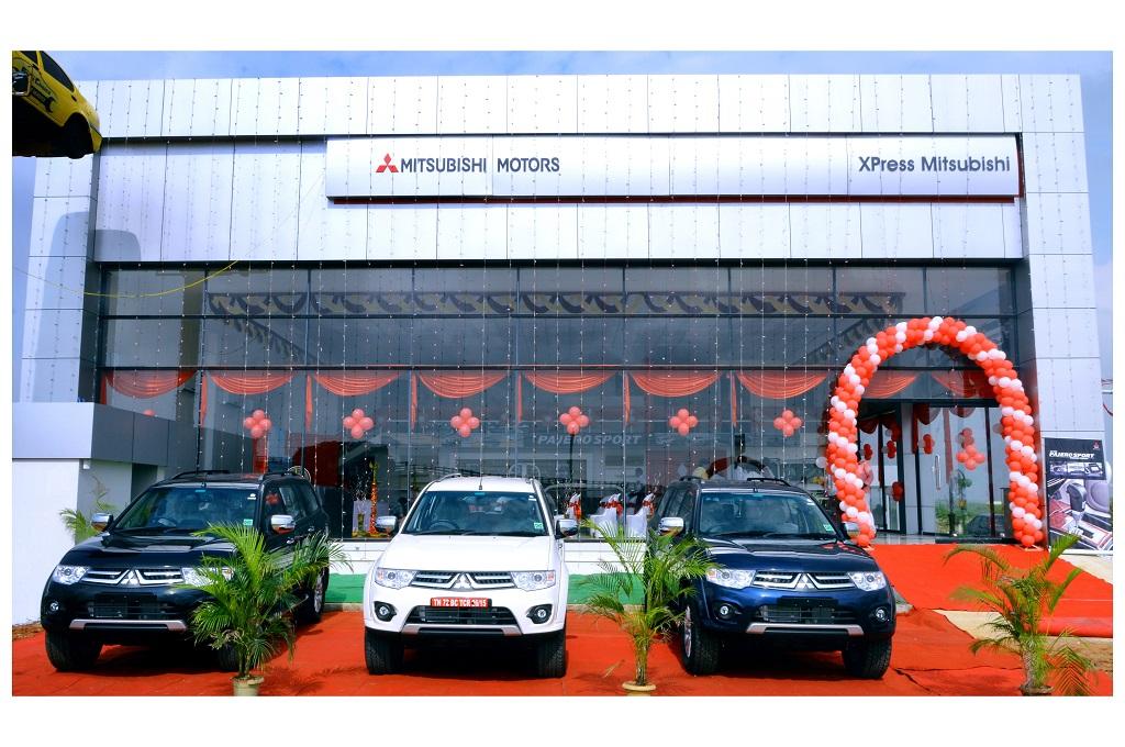 Mitsubishi opens new dealership in Tirunelveli (Tamil Nadu)
