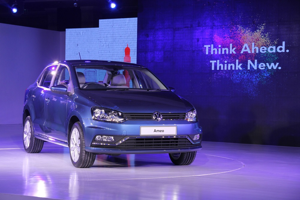 VW to participate in Make In India week Volkswagen Ameo