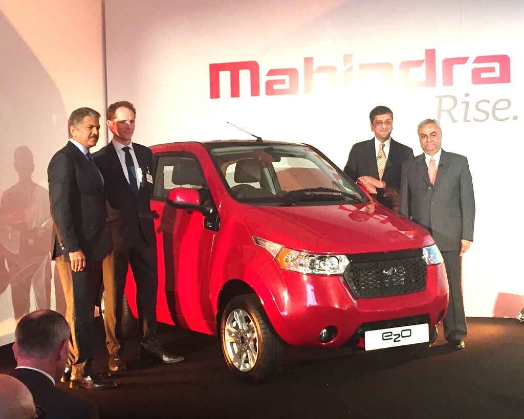 Mahindra launches the all new e2o ElectriCity Car in the UK
