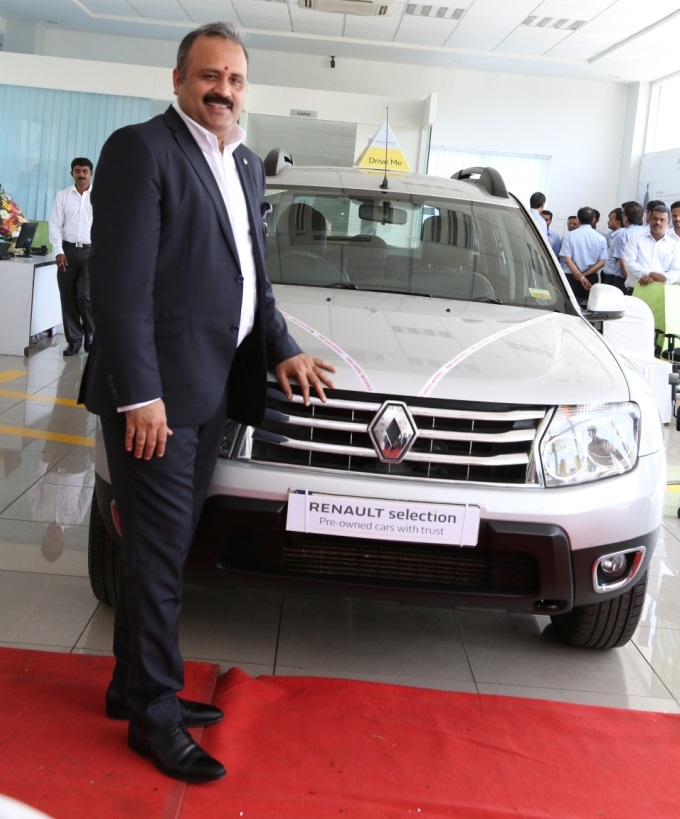 Mr. Sumit Sawhney, Country CEO and Managing Director, Renault India Operations