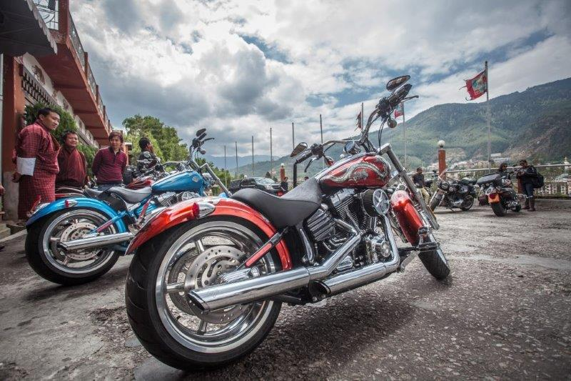 Picture 3 - 3rd International HOG Rally Harley Davidson riders from Indi...
