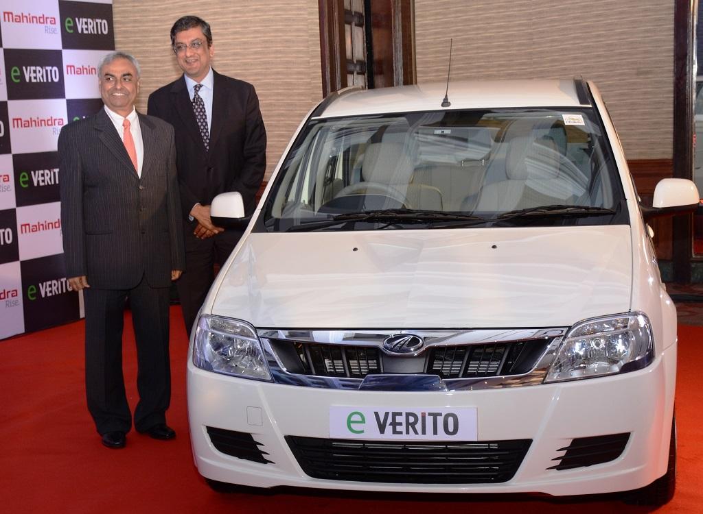 Mahindra launches eVerito, India's 1st Zero-Emission, All-Electric Sedan