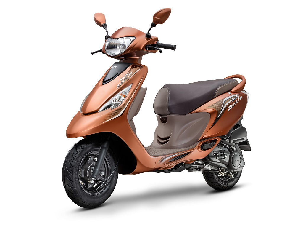 TVS Scooty Zest 110 'Himalayan Highs' Special Edition