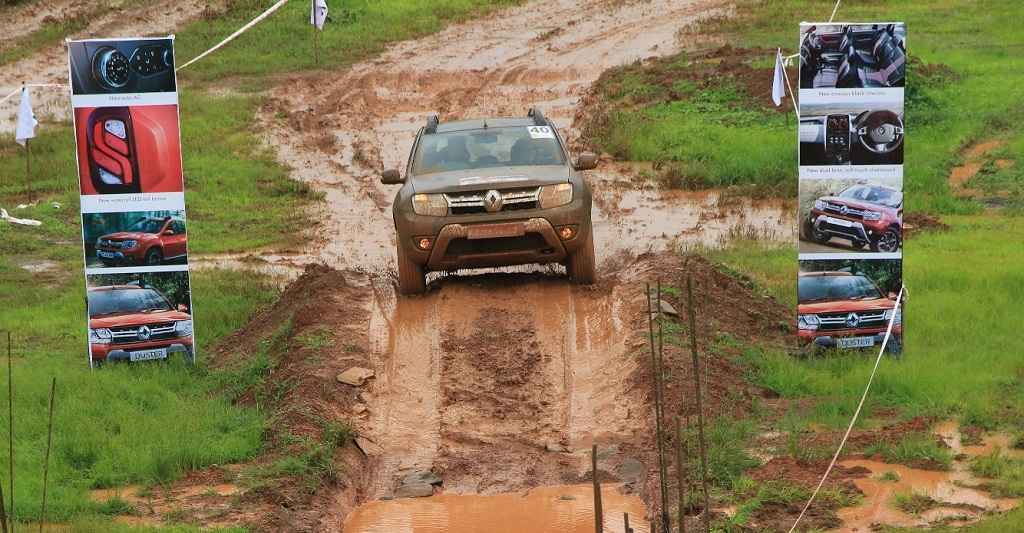 An initiative to experience the off-roading capabilities of the New Duster AWD