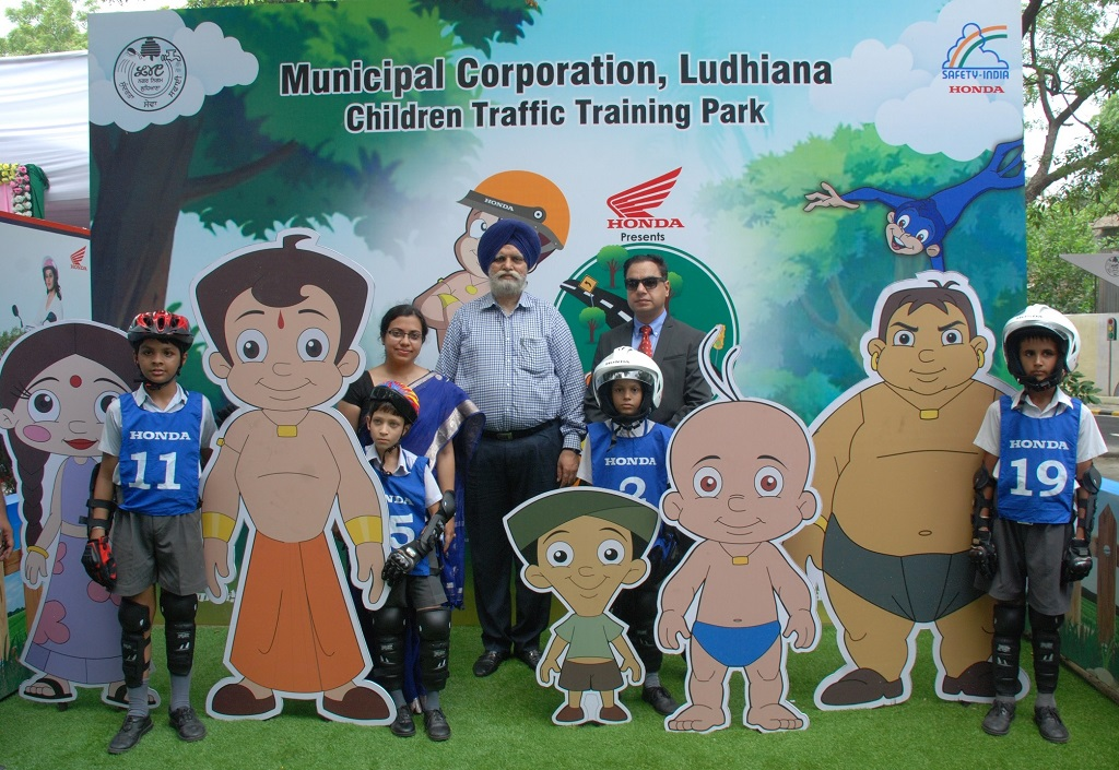 Honda Inaugurates Children Traffic Training Park in Ludhiana