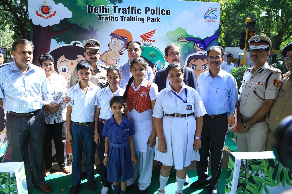 Honda in association with Delhi Traffic Police inaugurates its Road Safety Summer Camp