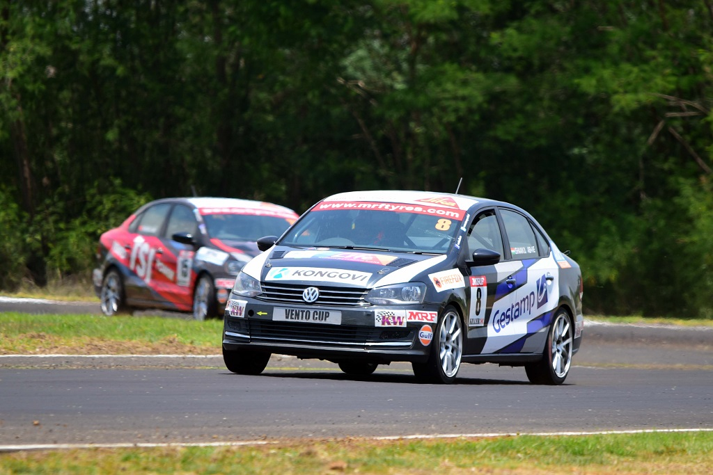 Ishaan Dodhiwala won a stunning Race 4 of Vento Cup 2016 ahead of Chines...