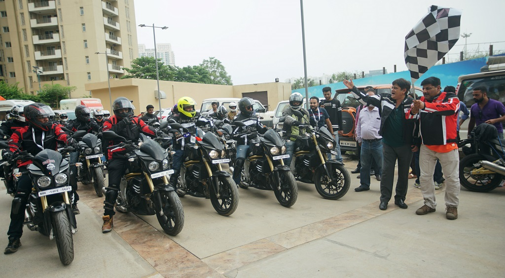 Mahindra Mojo Mountain Trail Kick-off Pic1