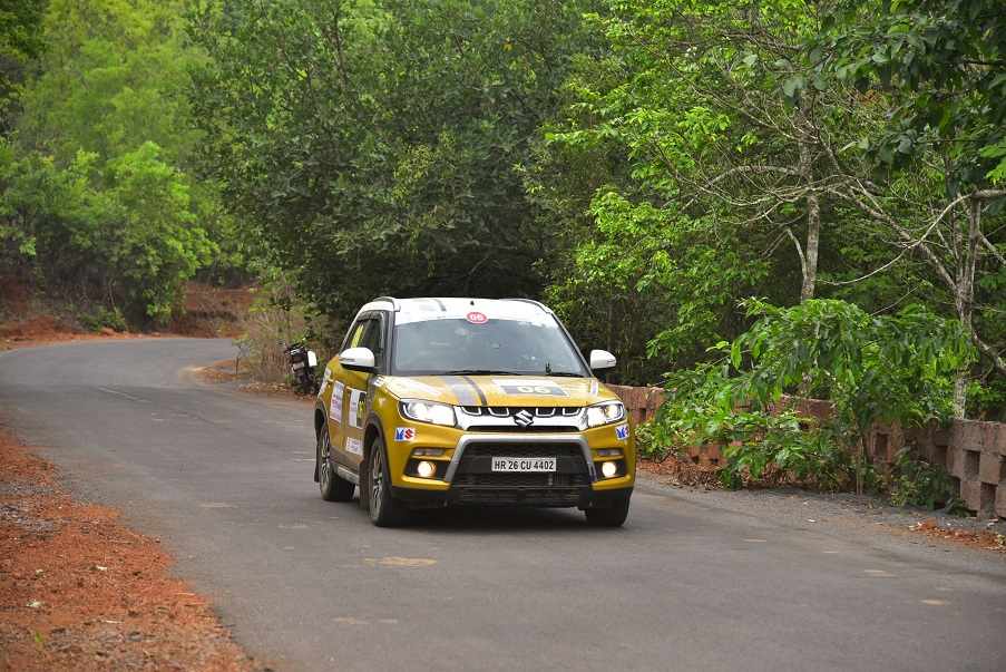 Maruti Suzuki Vitara Brezza at the Maruti Suzuki Deccan Rally