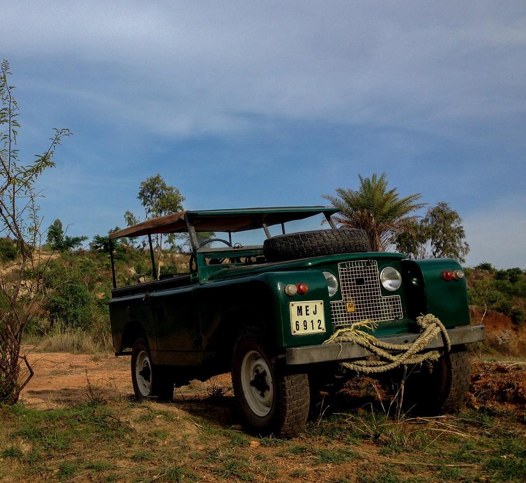 Maya-1966 Land Rover Series 2A (Photo Credit-Mr. Sanjeev Monga)