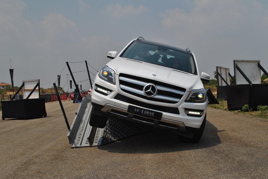Mercedes-Benz GL at LuxeDrive Bangalore