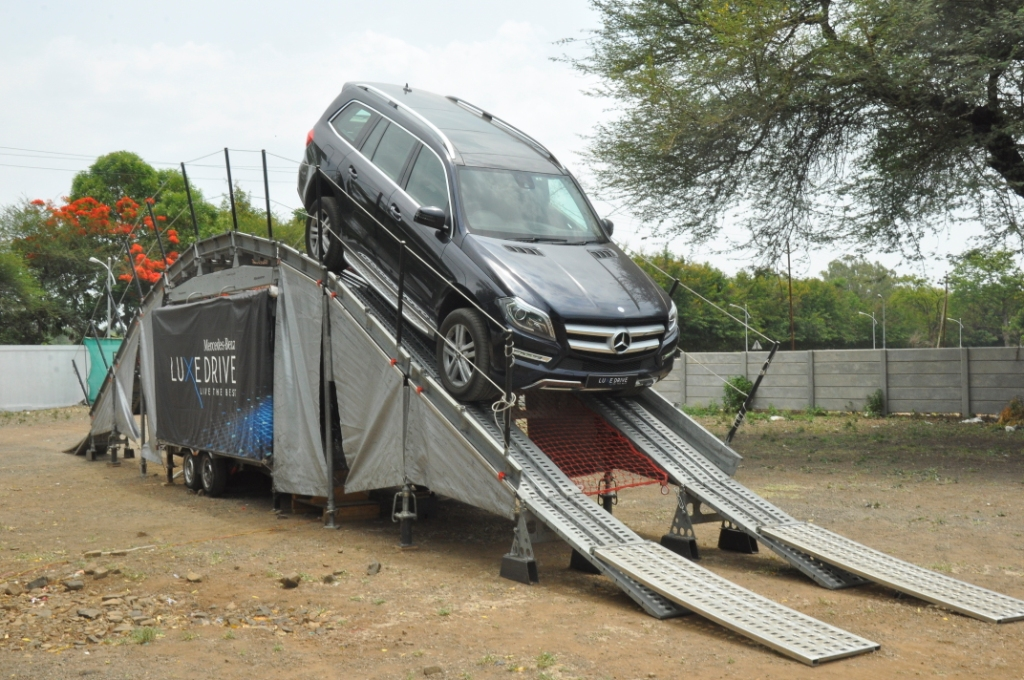 Mercedes-Benz India conducts its customer engagement programme- Luxe Drive in Nashik