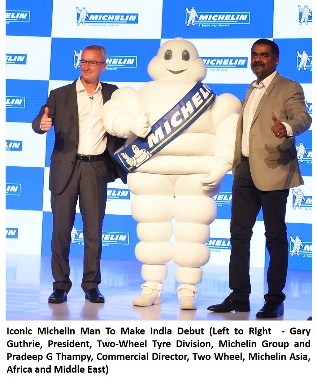 Michelin Man To Make India Debut- July 21