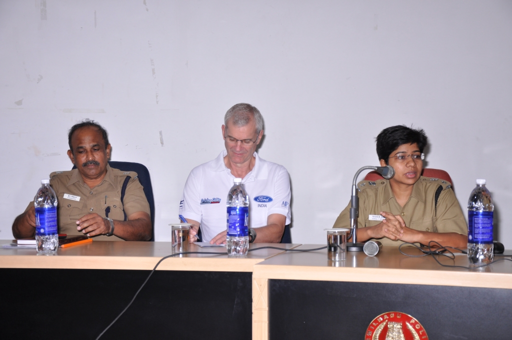 Mr R Manoharan,      ADC with Nigel Mark ED, Ford and Sonal Mishra, DC