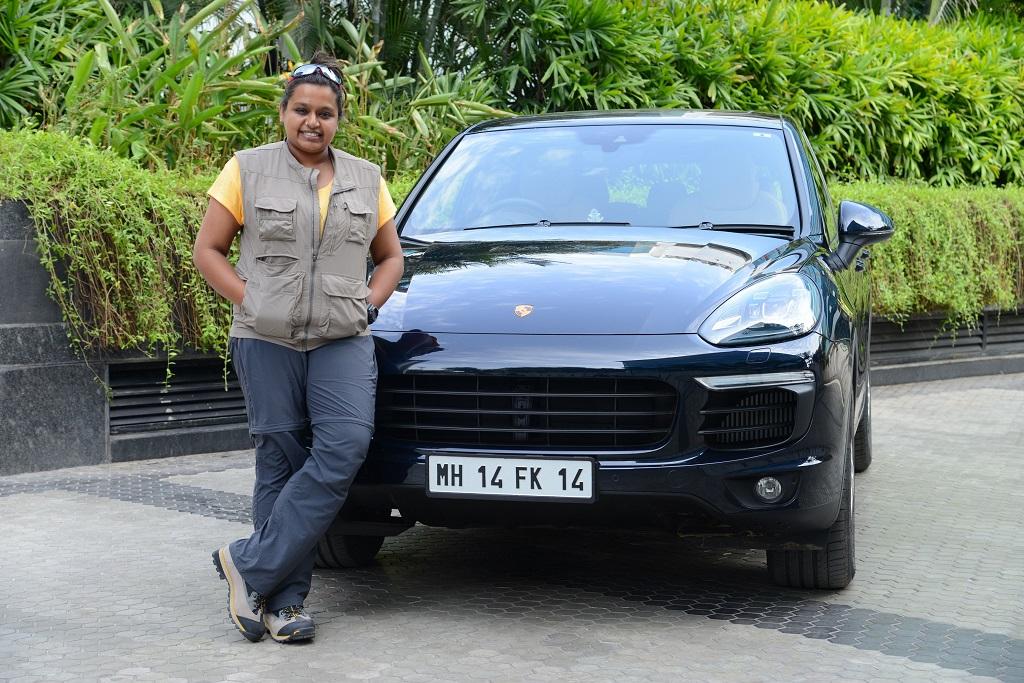 Nidhi Tiwari representing 'Women Beyond Boundaries' will be driving 4,00...