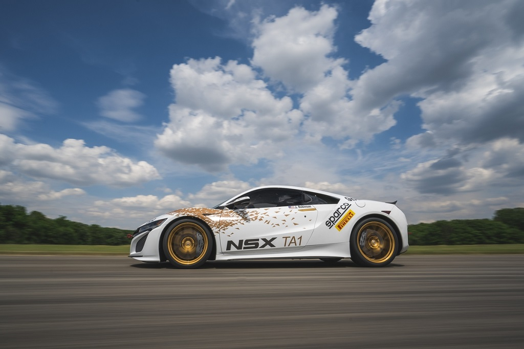 Acura NSX Time Attack 2 Vehicle