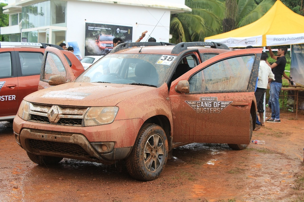Renault India organized the 'Duster Experiential Drive' in Goa