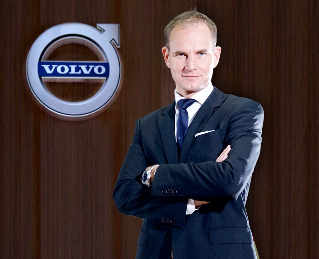 Tom von Bonsdorff, Managing Director, Volvo Auto India