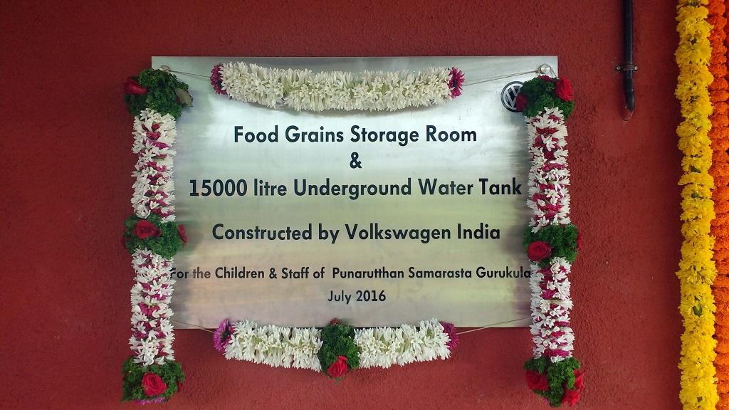 Volkswagen India_CSR Project at Gurukulam_3
