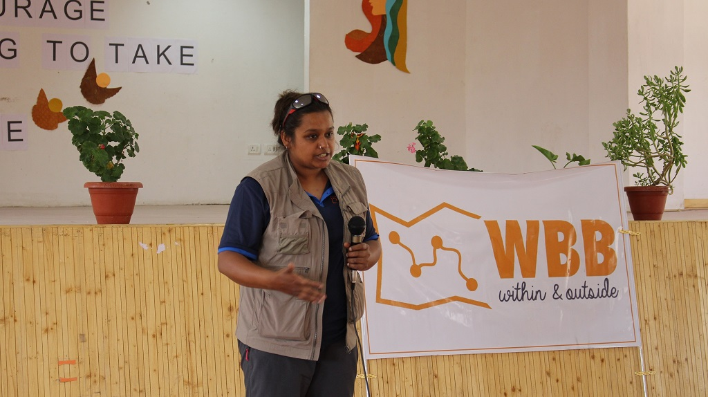 Workshop at Eliezer Joldan Girls college at Leh2