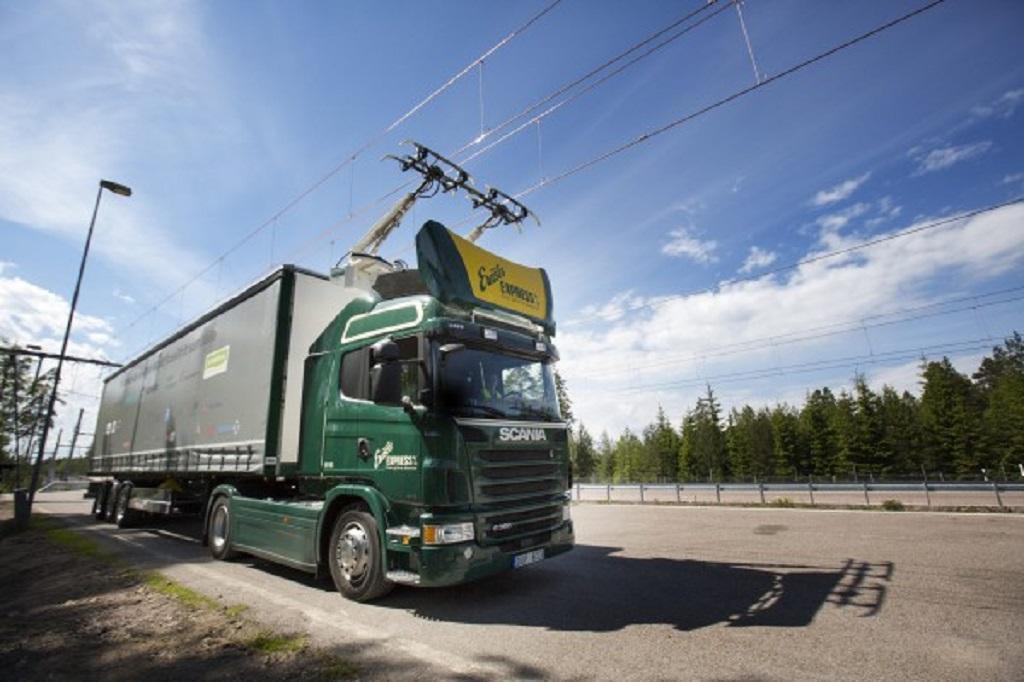 Electric road hybrid truck, Scania G 360