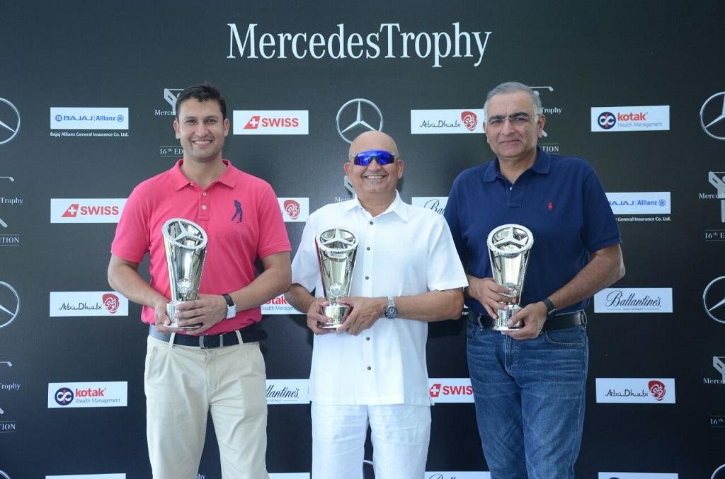 Ajit Parmar, Manish Jaitha & Karamvir Yadav - Winners of the 16th Edition MercedesTrophy Finals