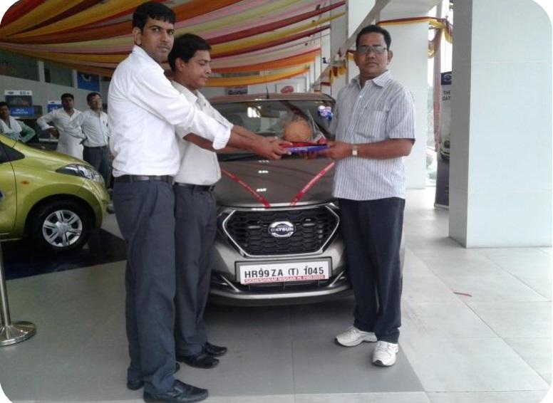 Datsun redi-GO delivered in Haryana