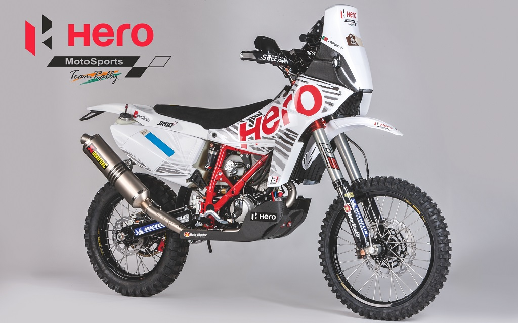 HMTR Bike - Speedbrain 450 Rally