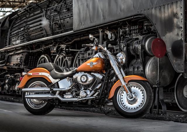 Harley-Davidson Fat Boy celebrated 25 years