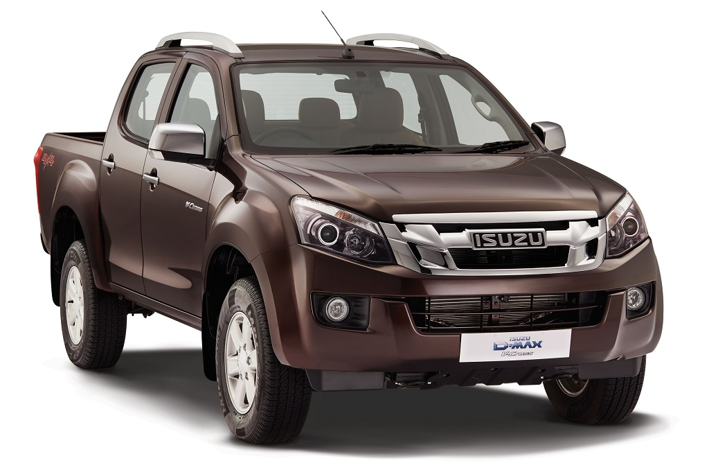 ISUZU D-MAX V-Cross -India's First Adventure Utility Vehicle (Orchid Brown )