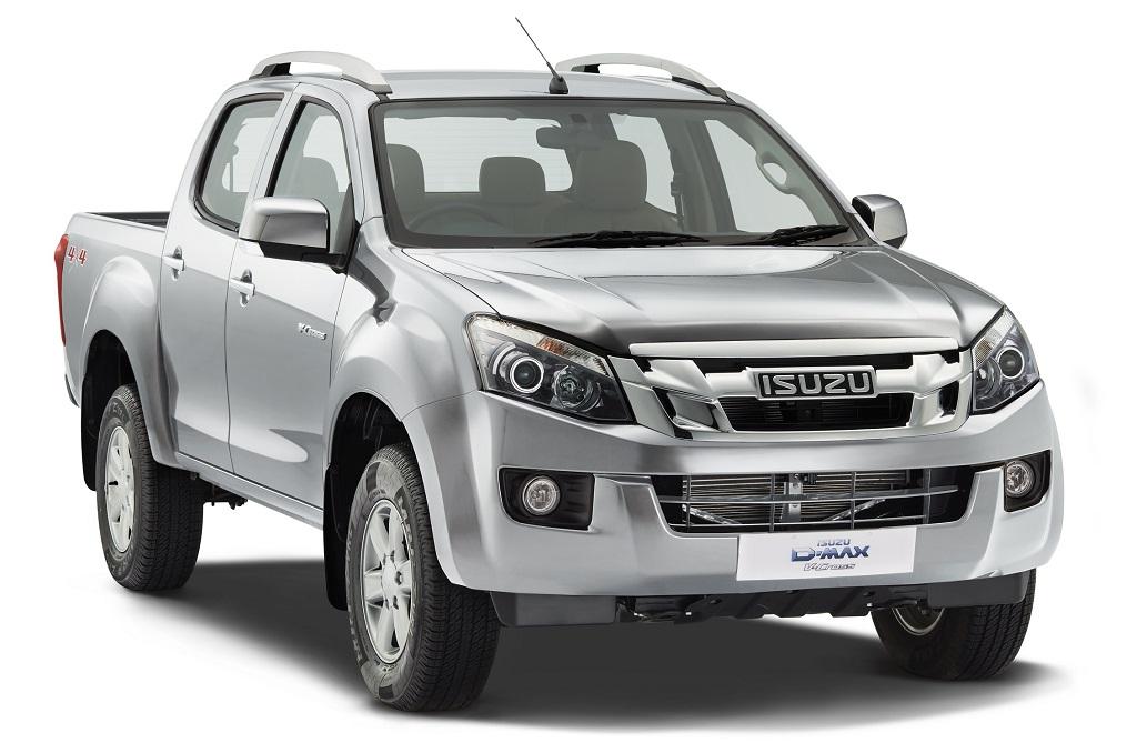 ISUZU D-MAX V-Cross -India's First Adventure Utility Vehicle (Titanium Silver)