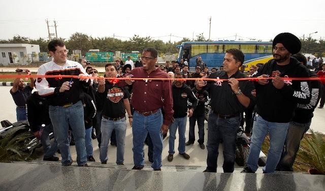 Inaugaration of Harley-Davidson Plant in Bawal, Haryana_2011