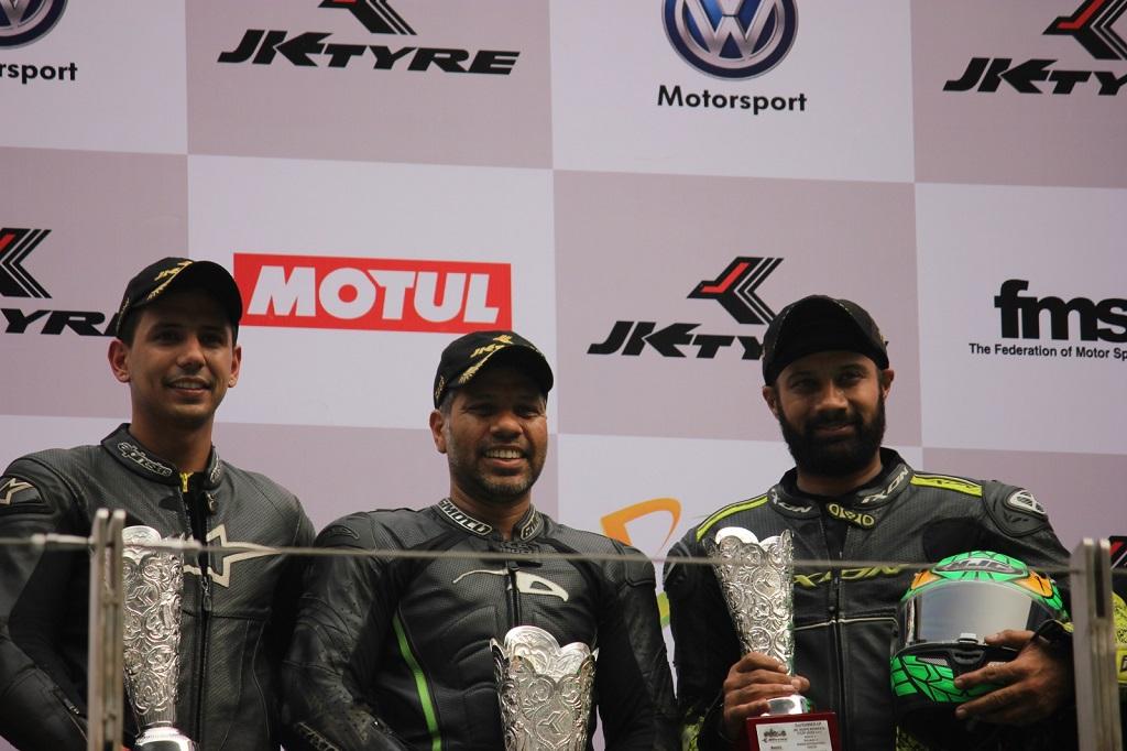 (L-R) Vijay Singh, Juzar Motiwala & Gurvinder SIngh