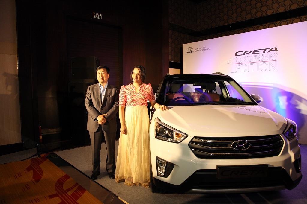 Mr. Y K Koo, Managing Director and CEO, Hyundai Motor India Ltd. present...