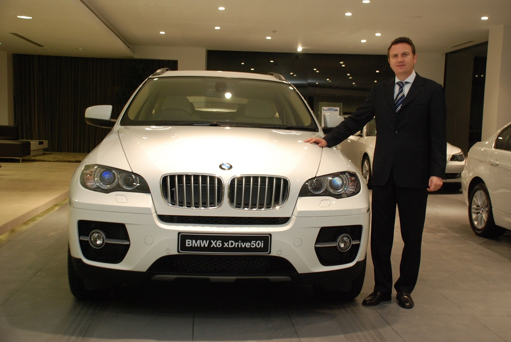 Peter Kronschnabl President BMW India