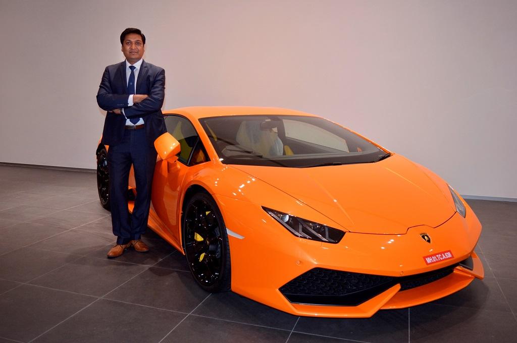Sharad Agarwal, Head, Lamborghini India