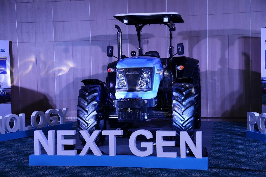Solis 120 HP tractor
