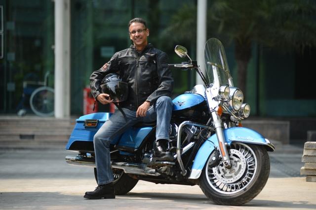Vikram Pawah, Managng Director, Harley-Davidson India